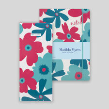 Matilda Myres Stationery Gift Set - Matching Notebook & Shopping List Pad - Teal