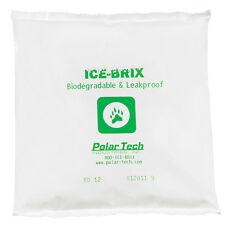 "Ice-Brix™ Biodegradable Packs 12 oz. 6"" x 6"" x 1"" White 48/Case IBB12"