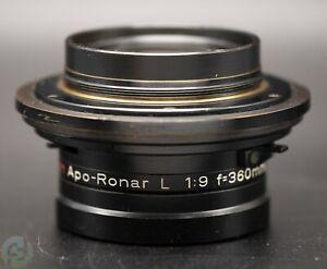 Rodenstock Klimsch Apo-Ronar L 1:9 f=360mm/14in. - Reproduktionsobjektiv