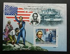 Sao Tome Abraham Lincoln 2009 United States President Famous (ms) MNH *Rare