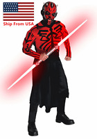 Star Wars Darth Maul Star Wars Costume Cosplay Party Halloween Adult - Red