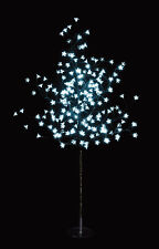 200 LED 1.5M Cool White Solar Cherry Blossom Christmas Outdoor Tree