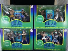 (4) New Ventures 1995 Holyland Heroes Action Figures Sets