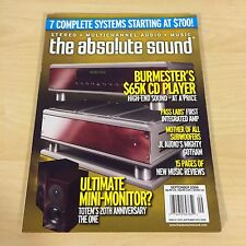 The Absolute Sound Issue 184, 2008 TAS MUSIC Burmester  Paas Labs Totem Review