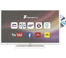 "JVC 32"" Inch SMART LED LCD TV DVD Combi, Freeview HD, WiFi, USB Record & Play W"