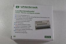 Uhlenbrock 63410 LocoNet-Schaltmodul, für Lampen, Weichen, Signale, Neuware.