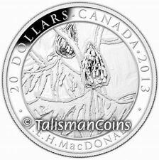 Canada 2013 Group of Seven Artists #6 Sumacs J.E.H. MacDonald $20 Silver Proof