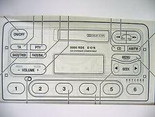 Ford  5000 RDS E-O-N MK 1 Radio Operating Manual Instruction Audio Book
