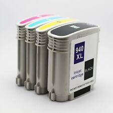 4PK HP 940XL 940 XL Ink Cartridge Officejet pro 8000 8500