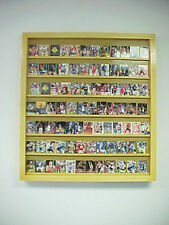 Monster Wallmount Card Display Case for nongraded Cards can hold 75-100 Cards
