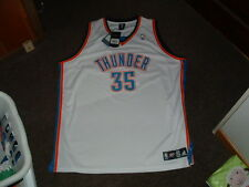 KEVIN DURANT #35 OKLAHOMA CITY THUNDER AUTHENTIC WHITE BASKETBALL JERSEY 56 NWT