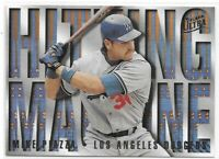 1995 Fleer Ultra Mike Piazza Hitting Machine Insert SP No. 9 Of 10