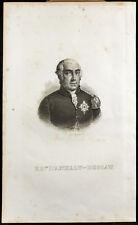 Portrait (1835) - Prince d'Anhalt-Dessau - Léopold III Frédéric François