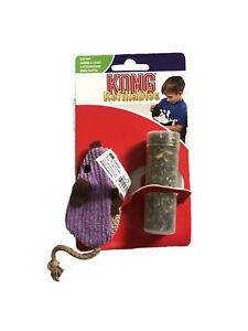 KONG Cat Toy - Refillable Catnip Corduroy Mouse