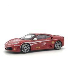 Ferrari F430 No14 SCUDERIA Challenge Red Diecast Car Model 1:43  10CM