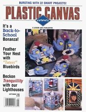 Plastic Canvas Corner Magazine ~ September 1998, 22 plastic canvas projects