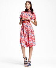 Brooks Brothers Cotton Shirt Dress Size 2P $228