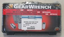 GEAR WRENCH 8 PC. SAE & METRIC STUD REMOVAL KIT 41760D MARINE BOAT