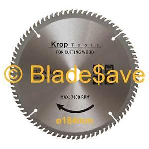 DeWalt Circular Saw Blade Fine Cut TCT 184mm x 16/20mm x 80T by KROP