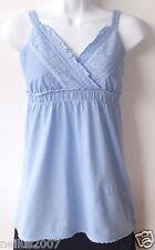 BNWT Polvo Azul Verano Atado Sexy Dorthy Perking Top T-shirt tamaño de Reino Unido 6 14 años
