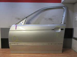 TÜR vorne links + BMW 3er E46 Limousine Touring + Silber metallic