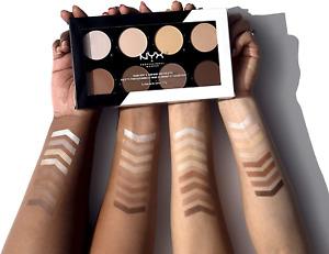 NYX Professional Makeup Highlight and Contour Pro Palette, Powder Contour Kit