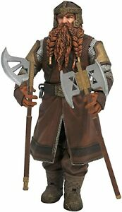 """Lord of the Rings Gimli Deluxe Action Figure 7"""" Diamond Select"""