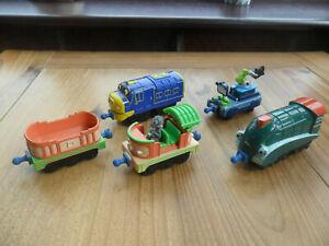 Chugger Toys Chuggington Die Cast Metal - BUNDLE OF TRAINS