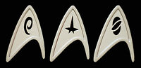 BRAND NEW ~ STAR TREK INSIGNIA PINS ~ BADGES ~ METAL PINS ~ ENTERPRISE ETC  COMS