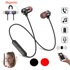Wireless Bluetooth Headphones Sport Gym Earphones Earbuds Headset with MIC Bass
