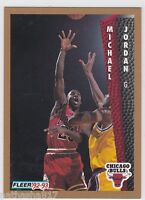 1992 FLEER #32 MICHAEL JORDAN NMMT