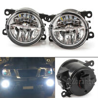 L+R Side LED Front Bumper Fog Light Lamp For Mitsubishi 380 Mirage Pajero Sport