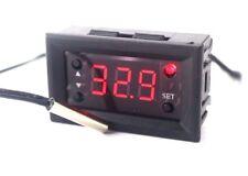 Termostato Digitale 12v da pannello con sonda NTC esterna da -50° a +100°C