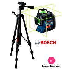lot niveau laser bosch 3d vert gll3-60 xg green 3x360 et trepied tt150
