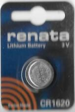 RENATA CR1620 3V LITHIUM WATCH BATTERY   EXP: 06/22