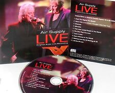 AIR SUPPLY LIVE CD,NEW! FREE SHIP! CONCERT 2004, HITS,ALL OUT LOVE,LOST LOVE