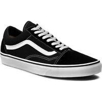 Vans Old Skool 751505 Black Suede Skateboard Men's Trainers Size Uk 7