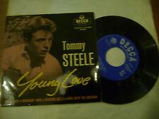 "TOMMY STEELE"" YOUNG LOVE-disco 45 giri EP(4 brani) DECCA UK 1961"""
