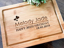 Personalized 30th, 18th , 21st  Birthday Board, Custom Serving / Cheese Board