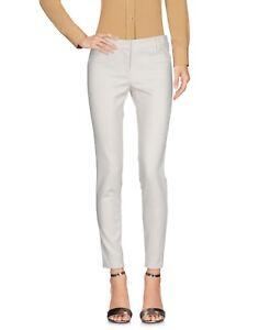 Pantaloni Donna ATOS LOMBARDINI Italy H907 Beige Chiaro Affusolato Tg 40 42 46