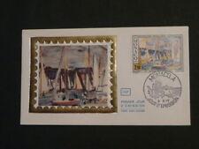 paintings Raoul Dufy sailing ship FDC Monaco 42135