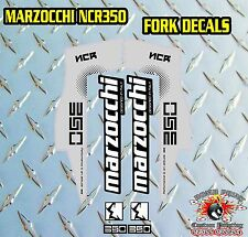 MARZOCCHI NCR350 FORK Stickers Decals Graphics Mountain Bike Down Hill MTB