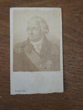 CDV Historique Personnalité DUC DE BOURBON Phot FRANCK 1870  albuminé