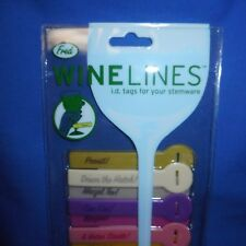 NEW Wine Lines I.D. Tags for Stemware from FRED