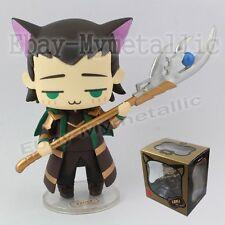 "Super Hero The Avengers Cutie Cat Cosplay LOKI 8cm / 3.2"" PVC Figure New In Box"