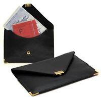 Étui Pochette Carte Grise Permis en Cuir Style Enveloppe