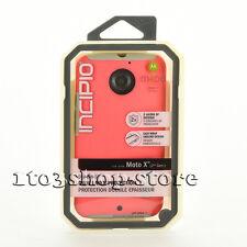 Motorola Moto X 2nd Generation Hard Shell Case Incipio Dualpro Coral Pink/Grey