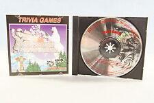 Trivia Games All Around Canada Trivia Shareware PC Computer Game 1994 Rare Disc