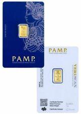PAMP Suisse Fortuna 1g Gram Fine Gold Bar Bullion 999.9