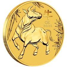 Australien 100 Dollar 2021 Jahr des Ochsen | Ox (2.) Lunar III - 1 Oz Gold ST